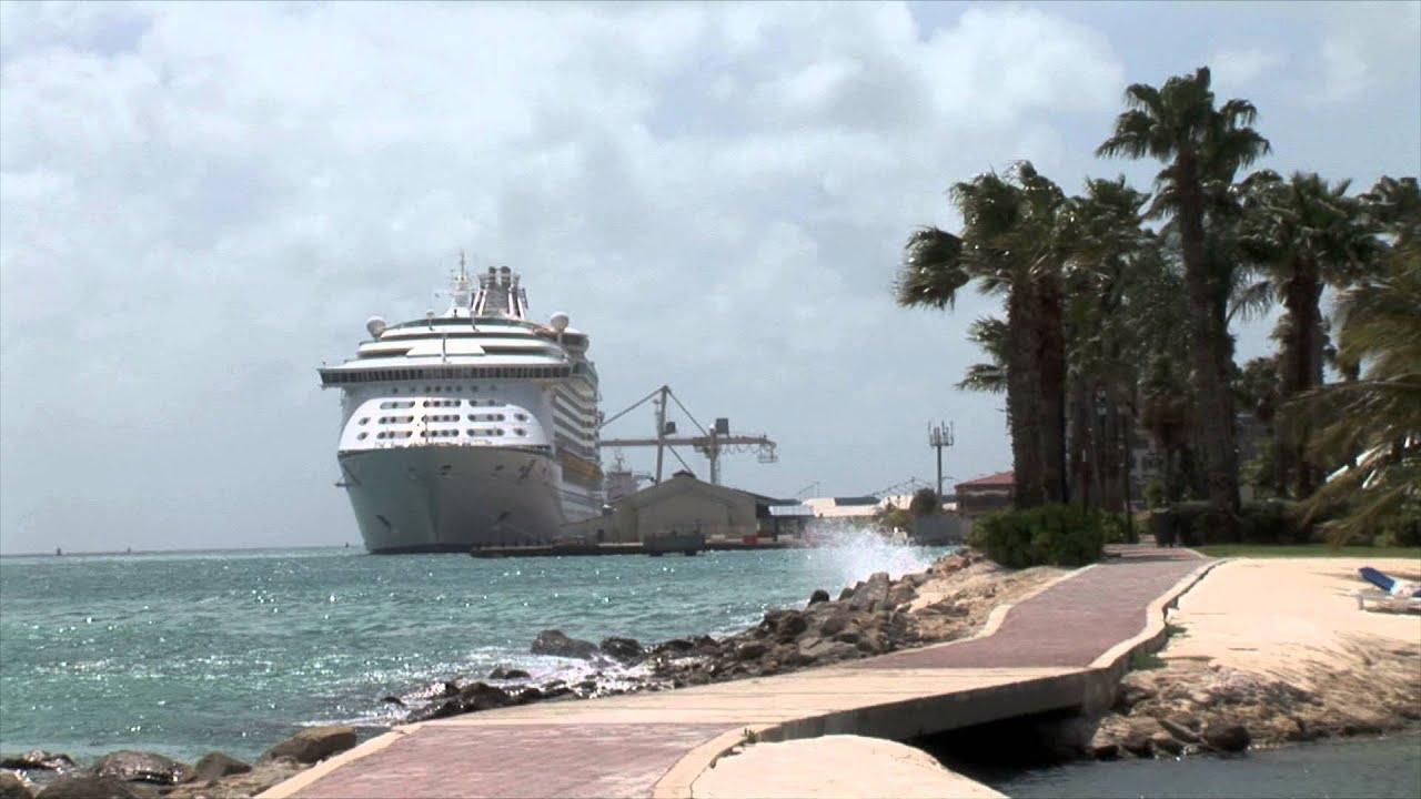 Aruba Cruise Ship Path Zoom  YouTube