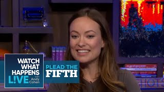 Olivia Wilde Answers Boyfriend Jason Sudeikis' Questions in this Plead the Fifth | WWHL