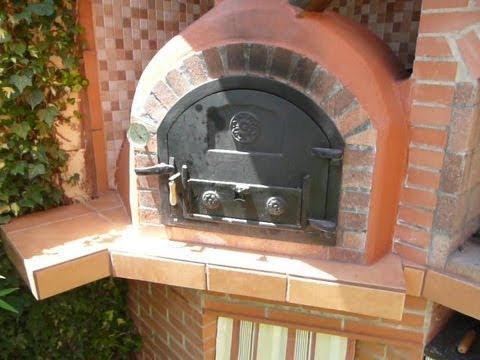 Construcci n de horno de le a 4 la b veda youtube - Fotos de hornos de lena ...