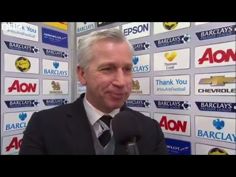 Manchester United 0-1 Newcastle - Alan Pardew (07-12-13)