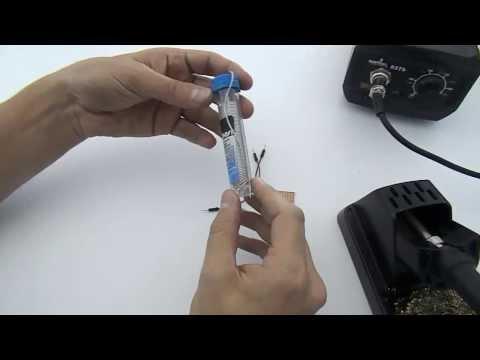 Tutorial: Como soldar componentes eletrônicos