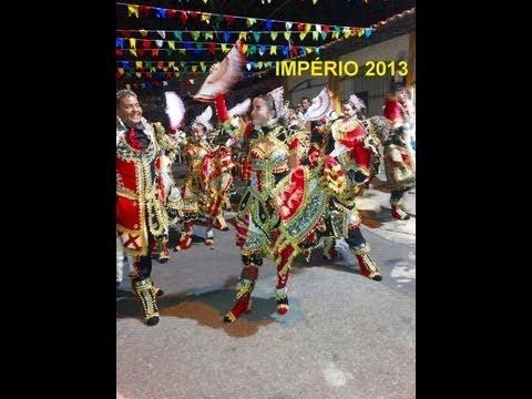 Império de Lisboa do Maiobão 2013 - Praça Maria Aragão