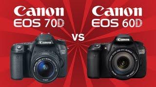 Canon 70D vs Canon 60D karşılaştırma