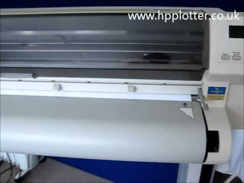 Designjet 700/750C/755CM Series - Printhead alignment on your printer
