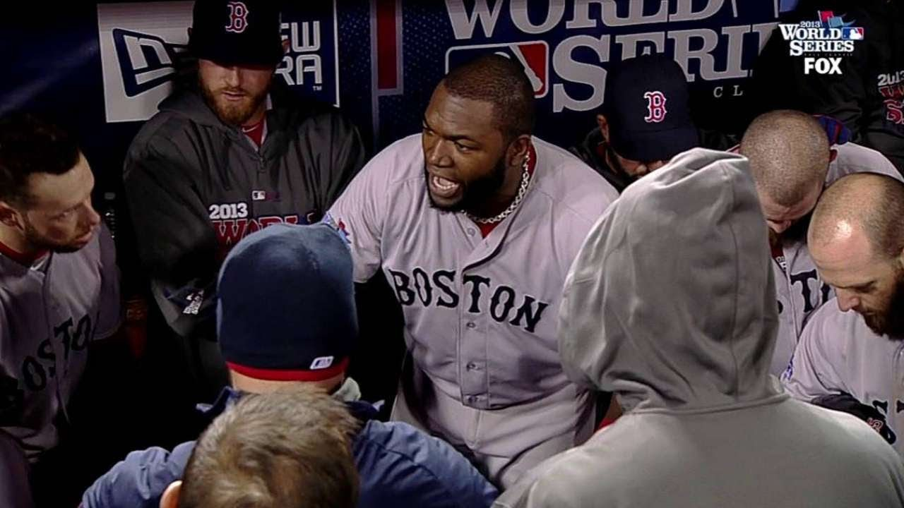 Big Papi leads the team