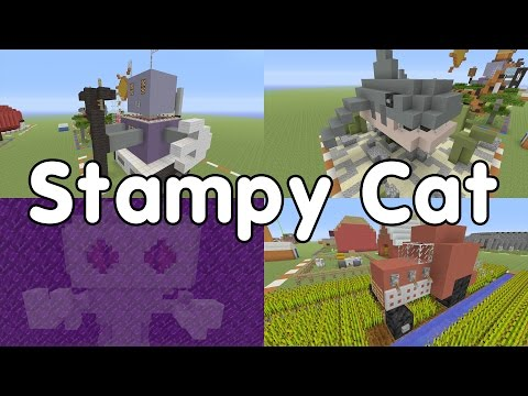 Top 10 Building Time Builds - Stampy Cat