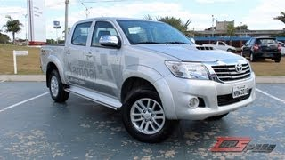 Test Drive Toyota Hilux 3.0 Turbodiesel (Canal Top Speed