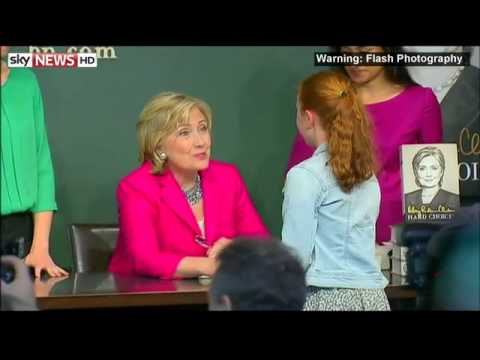 Hillary Clinton Clarifies 'Dead Broke' Remark(5:31pm)