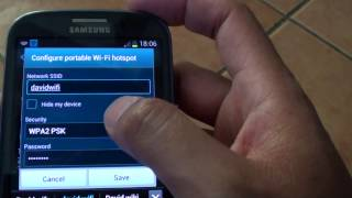 Samsung Galaxy S3: Enable Wi-Fi Hotspot For Free Internet