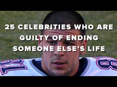 25 Celebrities Who Are Guilty Of Ending Someone Else's Life
