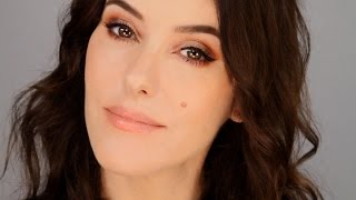 Quick Glam Makeup  - Copper Smokey Eye