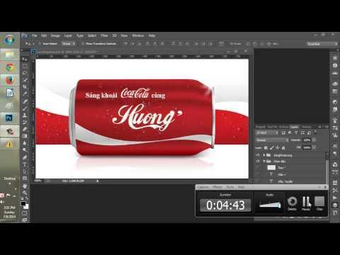 Chèn tên và in tên lên vỏ lon Coca Cola đẹp miễn phí