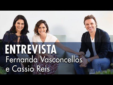Entrevista com Cássio Reis e Fernanda Vasconcellos