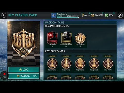 FIFA Mobile 18 Tournament Key Players Pack Opening!! !