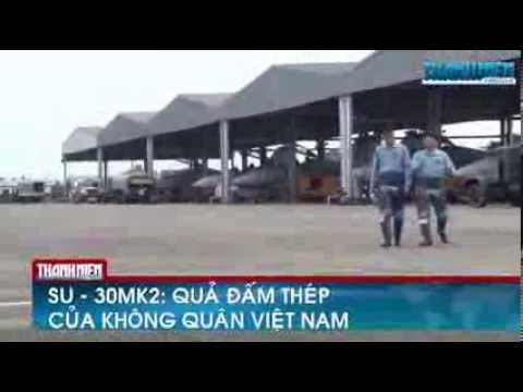 May bay chiến đấu Su 30MK2  Quả đấm thép của không quân Việt Nam