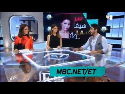 Haifa wehbe and Tarik Freitekh on MBC4 et_arabia