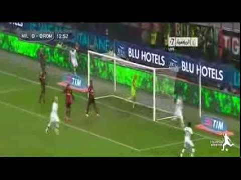 AC Milan vs AS Roma 2-2 All Goals &  Highlights