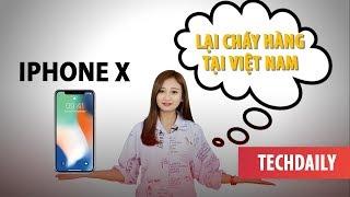 """iPhone X tiếp tục """"cháy hàng"""", Samsung có màn hình tràn vi�n trước sau ll TECHDAILY ll TECHMAG"""
