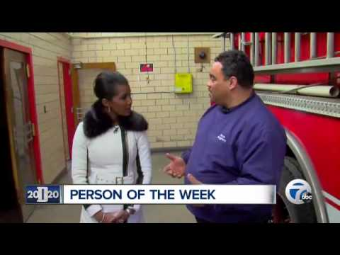Detroit firefighter's compassion caught on camera