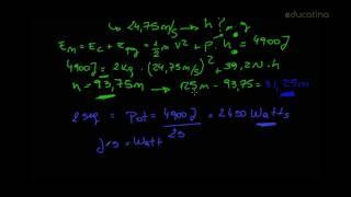 Concepto de trabajo, energía y fuerza en física. Parte 2