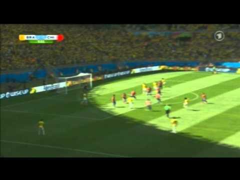 Brazil 1-1 Chile