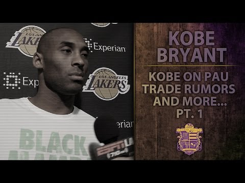 Lakers News: Kobe Bryant On Pau Gasol Trade Rumors, Kendall Marshall, And Phil Jackson