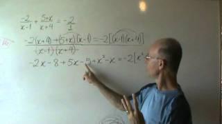 Equação Com Frações Letras E Parênteses No