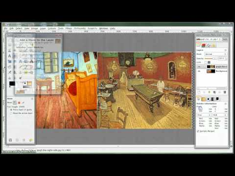 GIMP Tutorial - Blending two images using Layer Masks