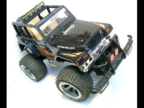 Nikko Jeep Wrangler 1/10 Off-Road Truck'N