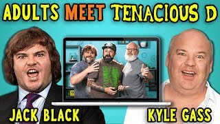 Adults React To And MEET Tenacious D (Jack Black/Kyle Gass)