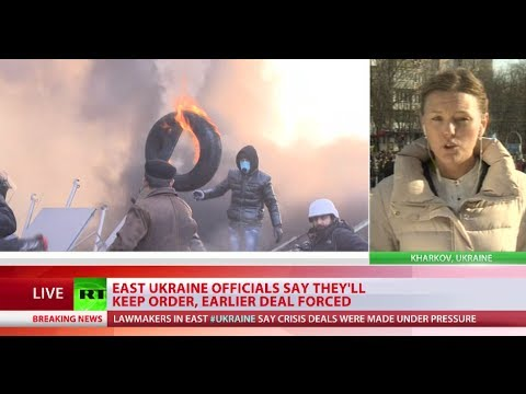 Huge Split: Eastern Ukraine rises against Kiev