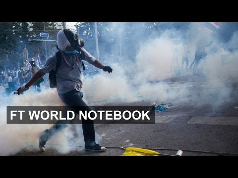 Thai protests turn violent