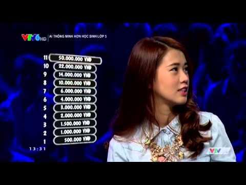 Ai thông minh hơn học sinh lớp 5 Ngọc Thảo & Nam Hee 13/07/2014