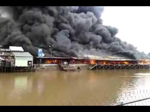 Cháy Chợ Thạnh Trị Trưa 810 - Chia Buồn Mỹ Tho