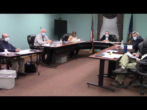 Champlain Town Board Meeting  11-10-20