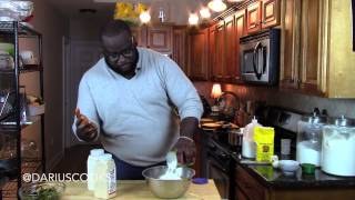 How To Make A Collard Green & Corn Bread Cake