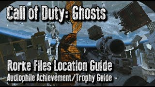 Call Of Duty: Ghosts Rorke Files Locations Intel Guide
