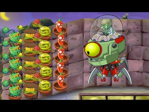 Plants vs Zombies 2 PC: Dr ZomBoss vs Zomboss Modern Day