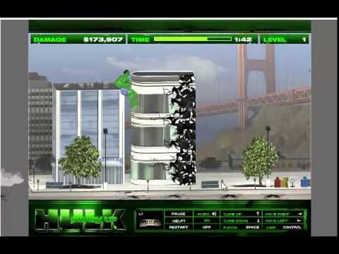 Game Quái Vật Người Khổng Lồ Xanh - Chơi game quái vật khổng lồ xanh