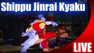 Third Strike: Shippu Jinrai Kyaku!!!