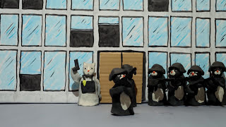 The Raid - Claymation
