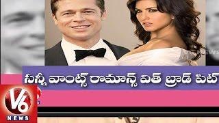 Sunny Leone wants to romance with Hollywood hero Brad Pitt