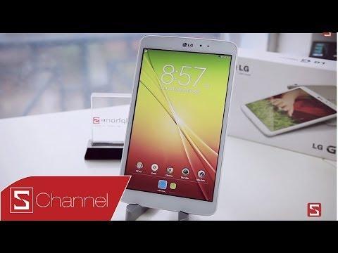 Khám phá tính năng thông minh trên LG G Pad 8.3