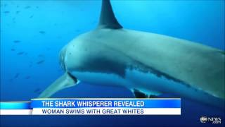 Blonde Goes For A Swim With Her Pet Shark! Graphic Content!