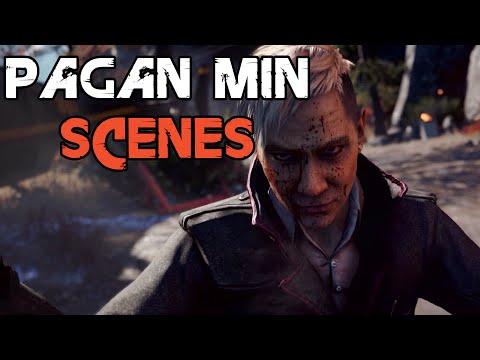 Far Cry 4 - All Pagan Min Scenes