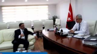 TÜMSİAD İstanbul Şube Başkanı Eyüp Topal'dan Zeytinburnu Kaymakamı Ufuk Seçilmiş'e Ziyaret