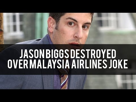 Did Jason Biggs Cross The Line With His Malaysian Airlines Tweet? - Daily Dispatch