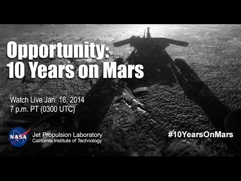 Opportunity: 10 Years on Mars