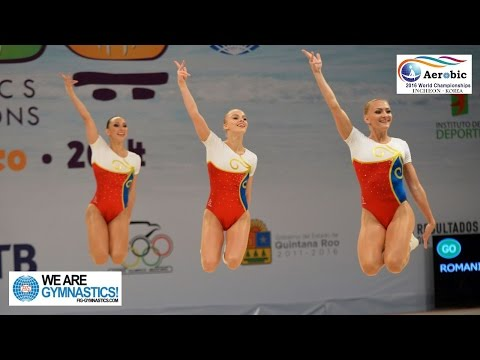 FULL REPLAY - 2016 Aerobic Gymnastics Worlds - Finals Day 1