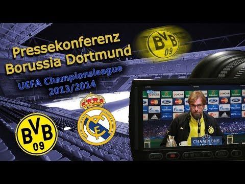 UEFA Championsleague-Viertelfinale: Borussia Dortmund - Real Madrid   2 : 0 - Pk mit Jürgen Klopp